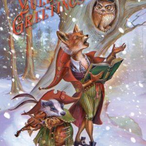 BY25 - Wildwood Carols Briar Yule card