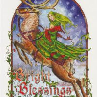 Bright Blessings Briar Yule card BY11