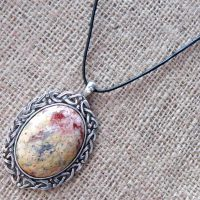 celtic-leopardskin-jasper-leather-cord-necklace