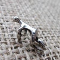 climbing-man-silver-ear-cuff