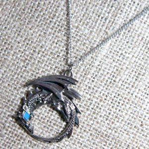 Dragon Ouroboros necklace MY11