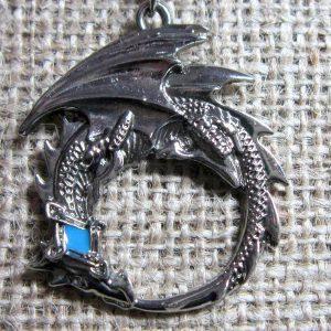 Dragon Ouroboros necklace MY11 pendant