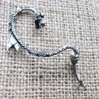 dragon-silver-ear-wrap-stud