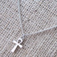egyptian-ankh-silver-necklace