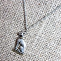 Egyptian goddess Bast necklace JA10
