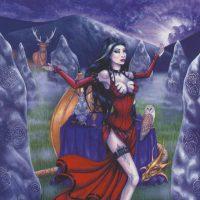 Enchantress Gothic Moon card GM01