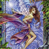 Frost Faerie Briar Yule card BY19