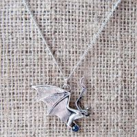 GA1 - Hanapu vampire bat necklace