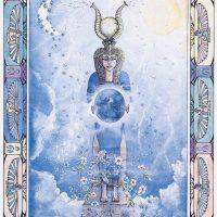 Isis Corrina Rockley Egyptian goddess card CR107