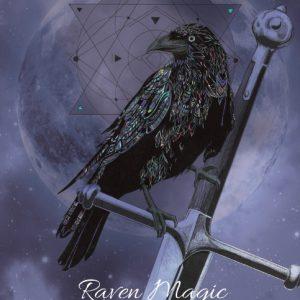 KA1 - Raven Magic Karin Roberts blank card