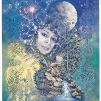 Moon Goddess Corrina Rockley card CR105
