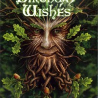 Oak King Green Man Anne Stokes birthday Card AN18