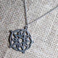 Pentagram of Brisingamen necklace CS2