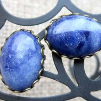 sodalite-oval-bronze-cufflinks-display