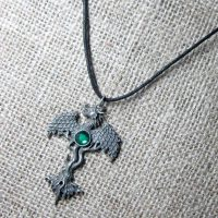 The Dragon Tree cord necklace GW05