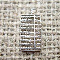 Vintage Sterling silver abacus vintage charm