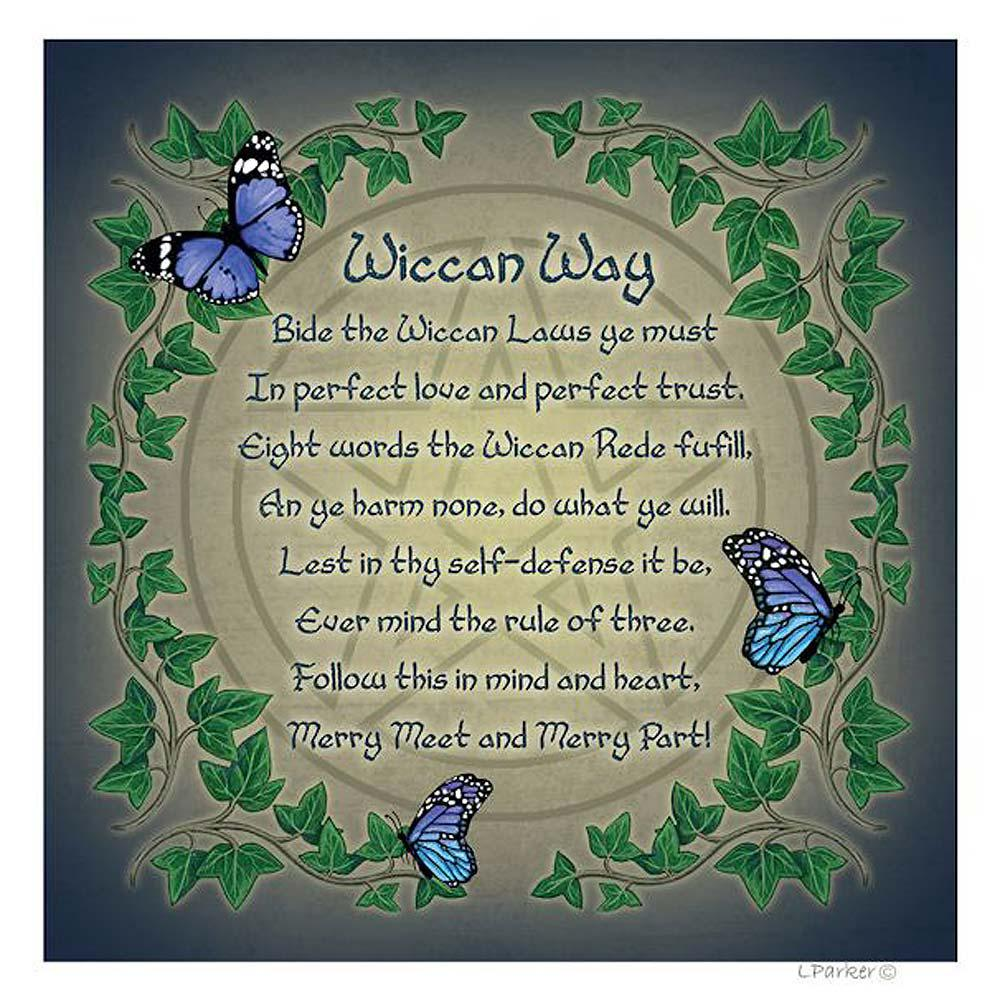 Wiccan rede card by lisa parker dragonrat jewellery wiccan rede card m4hsunfo